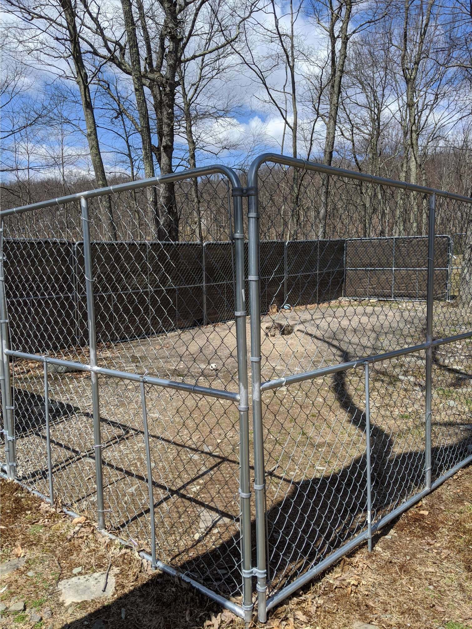 outdoor exercise pen